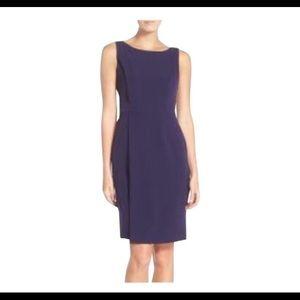 Adrianna Papell Navy work/office dress